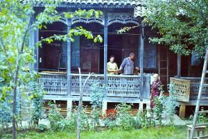 Caucasan_Holzhaus